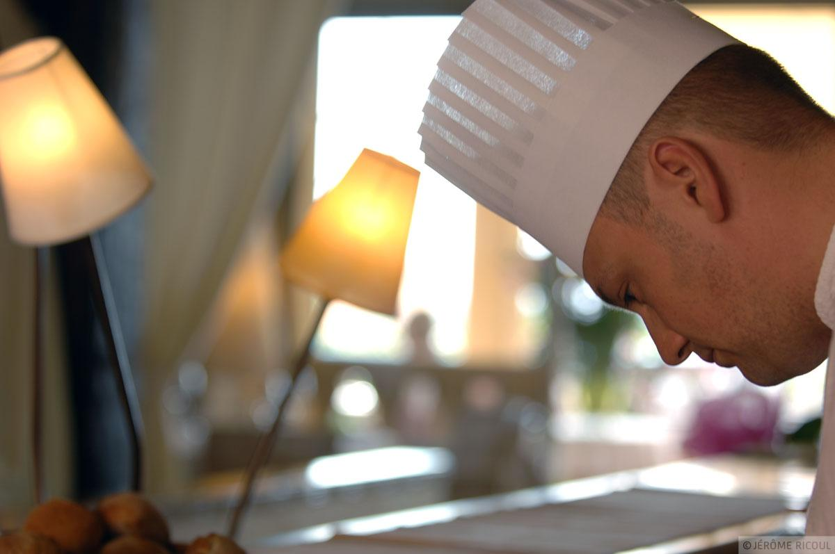 Chef Jérôme Masson